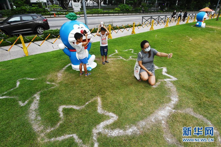 (國際)(2)新加坡國家博物館舉行哆啦A夢展覽