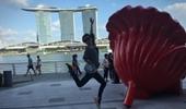 Hebe新加坡開心搞怪