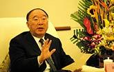 黃奇帆會見新加坡金融管理局局長孟文能