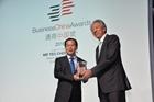 以金融力量架起中新溝通往來的橋梁——專訪中國銀行新加坡分行行長邱智坤