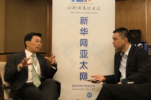 專訪通商中國主席李奕賢:中國東盟加強合作有利于防禦高負債風險