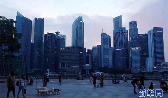 新加坡濱海灣掠影