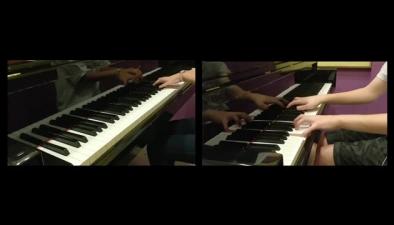 鋼琴聯奏Cluade Debussy