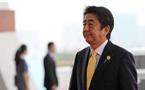 安倍連任黨首 宣布將在卸任前修改和平憲法
